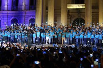Bukele confía que ganará la Presidencia de El Salvador