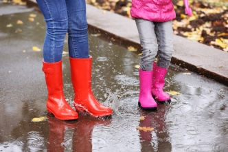 Probabilidad de lluvia en el arranque de la semana laboral