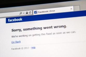Facebook e Instagram estuvieron sin servicio por horas