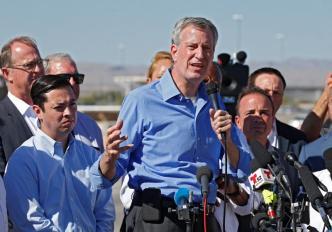 Bill de Blasio anunciará pronto si va a la campaña presidencial