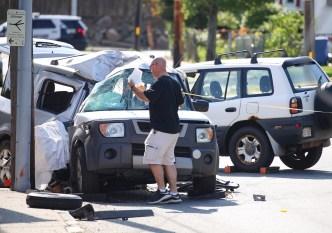 Un muerto y dos heridos en choque en Waltham