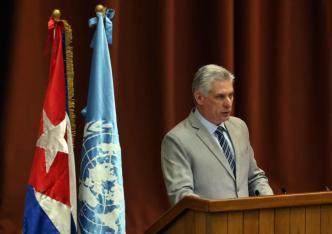 """Díaz-Canel reconoce que Cuba pasa por """"crudo momento"""""""