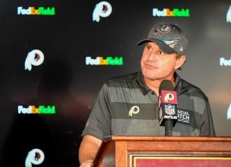 Redskins despiden a coach Jay Gruden tras inicio de 0-5