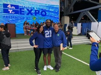 Conoce a los jugadores de los Giants en la Expo de Salud y Bienestar
