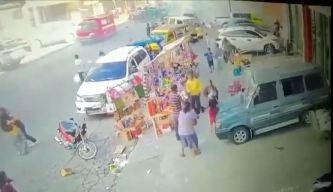 En video la mortal explosión en mercado filipino