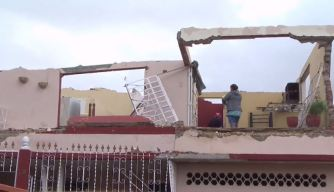 Recogen ayuda para afectados tras tornado en Cuba
