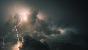 Tormentas eléctricas castigan nuestra área