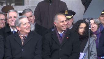 Latino es juramentado como alcalde de Providence