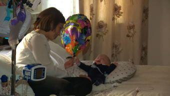 Sebastián, un bebé milagro que colma de esperanza