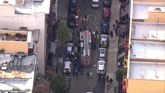 Tres muertos con impacto de bala en incendio en Harlem