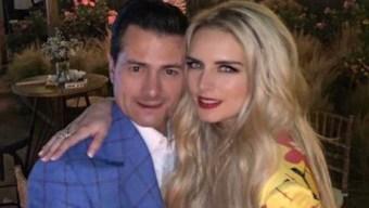 La novia de Peña Nieto le declara su amor al expresidente