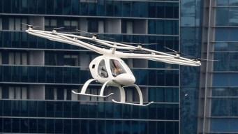 Singapur tendrá en 2021 un innovador servicio de taxis aéreos