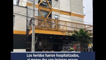 Explosión  Hotel Campamento en Tijuana zona Norte