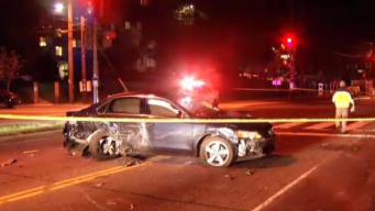 Un muerto y tres heridos en accidente vehicular en DC