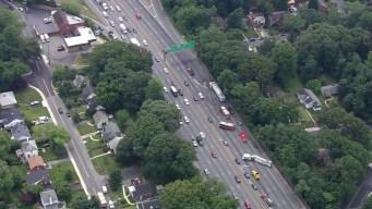 Reabren carriles de la Capital Beltway tras accidente