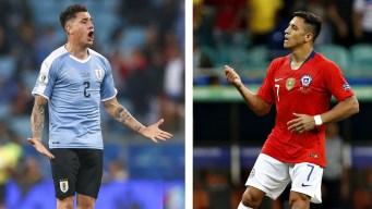 Chile - Uruguay, el rectángulo de fútbol convertido en ring de boxeo