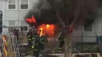Buenos samaritanos rescatan a personas de incendio