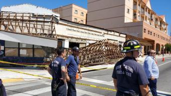 Un herido en derrumbe de techo en la Pequeña Habana