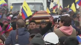Acuerdo busca poner fin conflictos en Ecuador