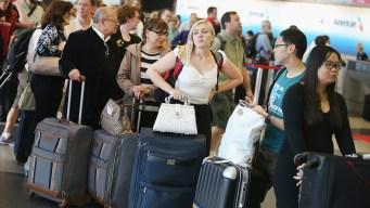 Aeropuertos locales afectados por falla del CBP