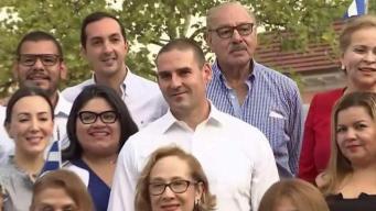 Alcalde de San Salvador comparte con sus compueblanos