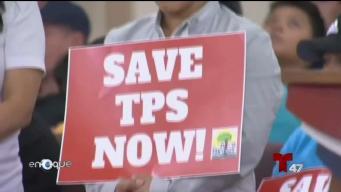 Alivio para los beneficiarios del TPS