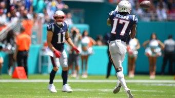 Antonio Brown deja Los Patriots tras controversia