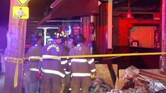 Arrestan a hispano tras estrellarse en restaurante en Rhode Island