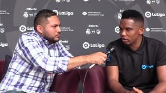 Samuel Eto'o comenta sobre su equipo favorito de la Copa América