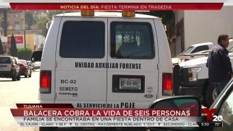 Ataque armado en fiesta en Tijuana deja seis muertos