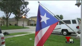 Bandera puertorriqueña crea controversia en vecindario