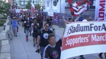 Fanáticos latinos del DC United se sienten discriminados