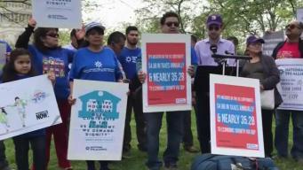 Beneficiarios del TPS piden la residencia