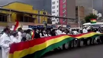 Bolivia: Médicos denuncian agresión en su contra