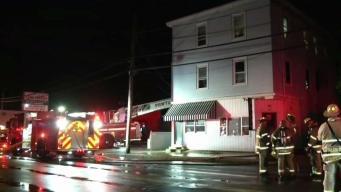 Bombero herido en incendio en Pawtucket