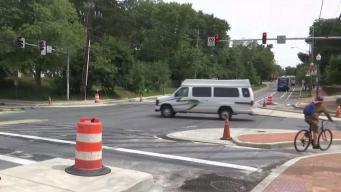 """Buscan mejorar la seguridad peatonal con """"intersección protegida"""""""