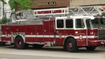 Camión de bomberos en Providence exhibe alta tecnología