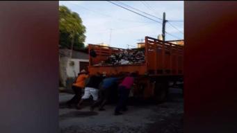 Camiones de basura se quedan sin gasolina en Cuba