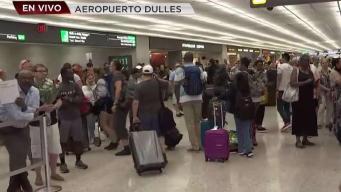 Caos en aeropuertos por colapso del sistema de CBP