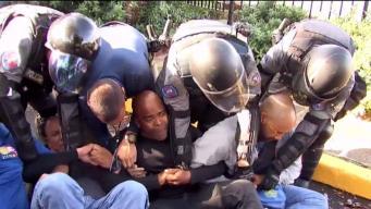 Desobediencia civil: celadores exigen mejores condiciones