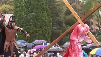Conmemoran la pasión y muerte de Cristo en Silver Spring