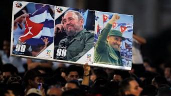 Cenizas de Fidel Castro parten al este de Cuba