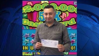 Hombre de Chelsea gana gran premio de lotería