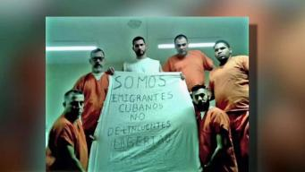 Cubanos en huelga de hombre en cárceles de ICE