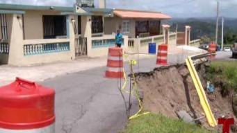 Derrumbe amenaza hogares en San Lorenzo