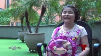 Colombiana sobrevive al cáncer con su corazón en una mochila