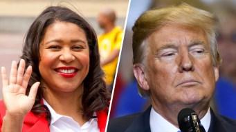 """Alcaldesa de San Francisco está """"harta"""" de ataques de Trump"""