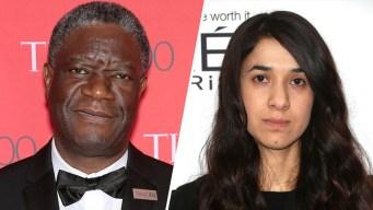 La lucha contra la violencia sexual se lleva un Nobel