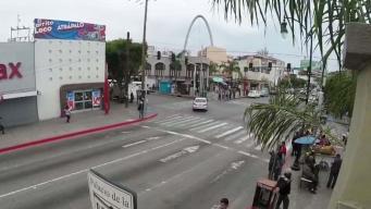 Comerciantes en Tijuana afectados por visita de AMLO