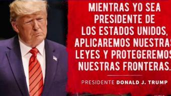 Comunidad hispana reacciona a mensaje de Trump
